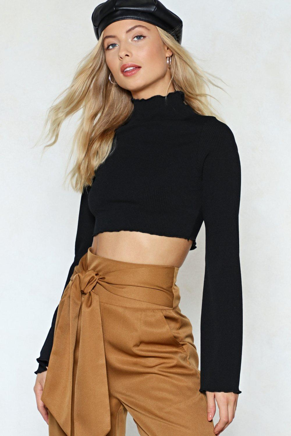 a00bdac103ffd4 Flare To Explain Ruffle Crop Top | Shop Clothes at Nasty Gal!