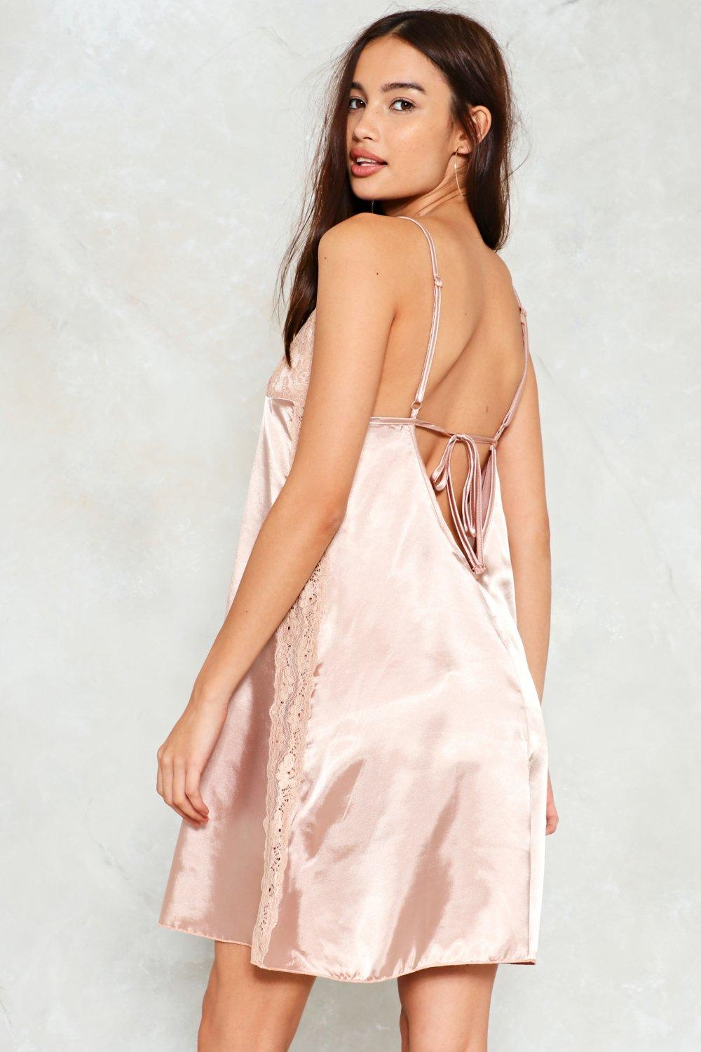 6a45903b33f Last Chance Satin Slip Dress