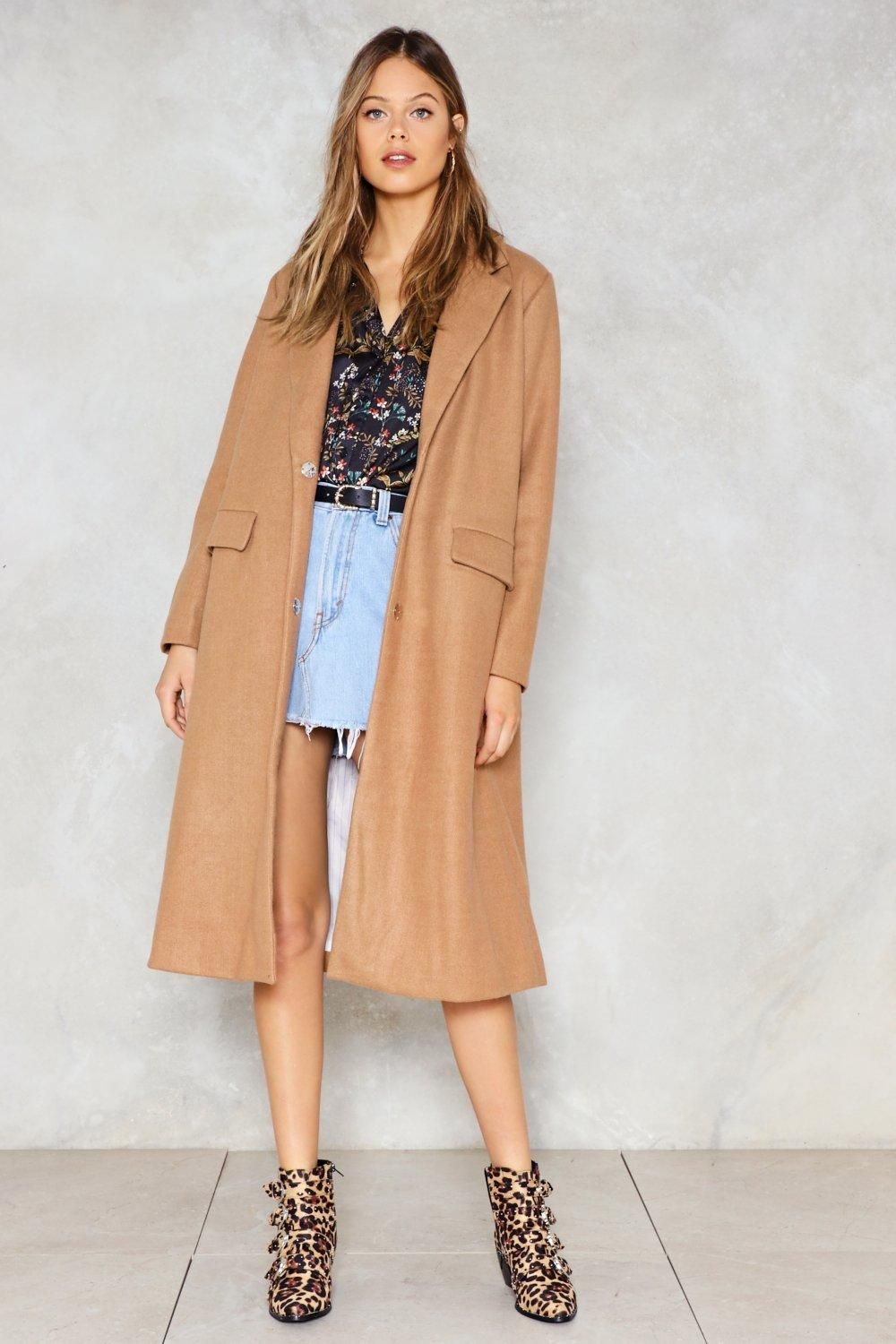 Downtown Train Trench Coat   Shop Clothes at Nasty Gal! 7c0159e414