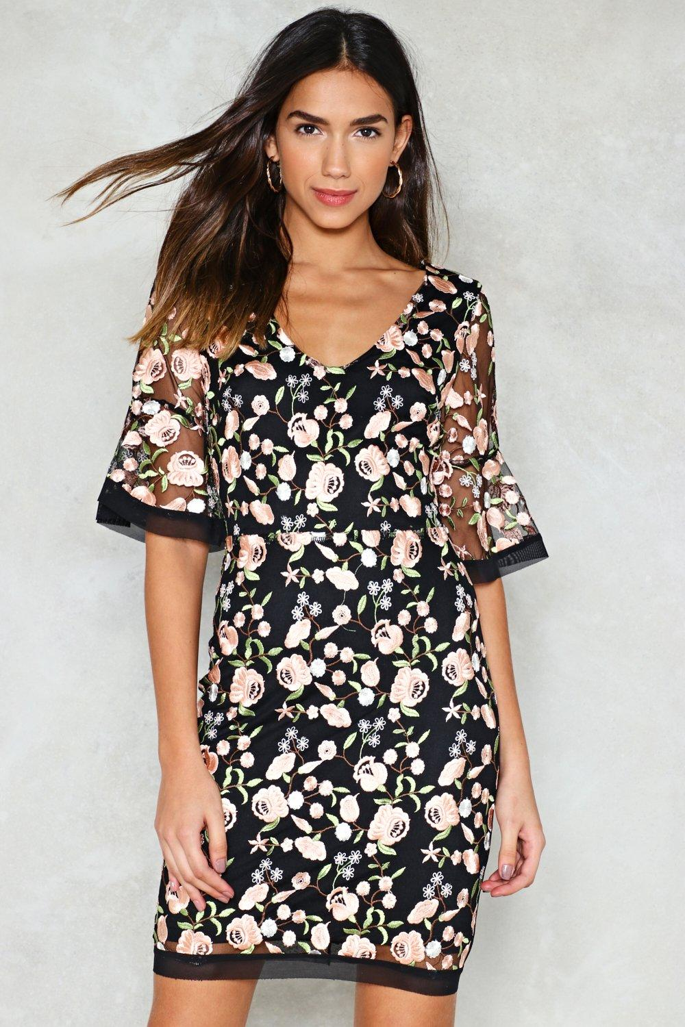 006646aabc60 A-Dress the Situation Embroidered Dress | Shop Clothes at Nasty Gal!
