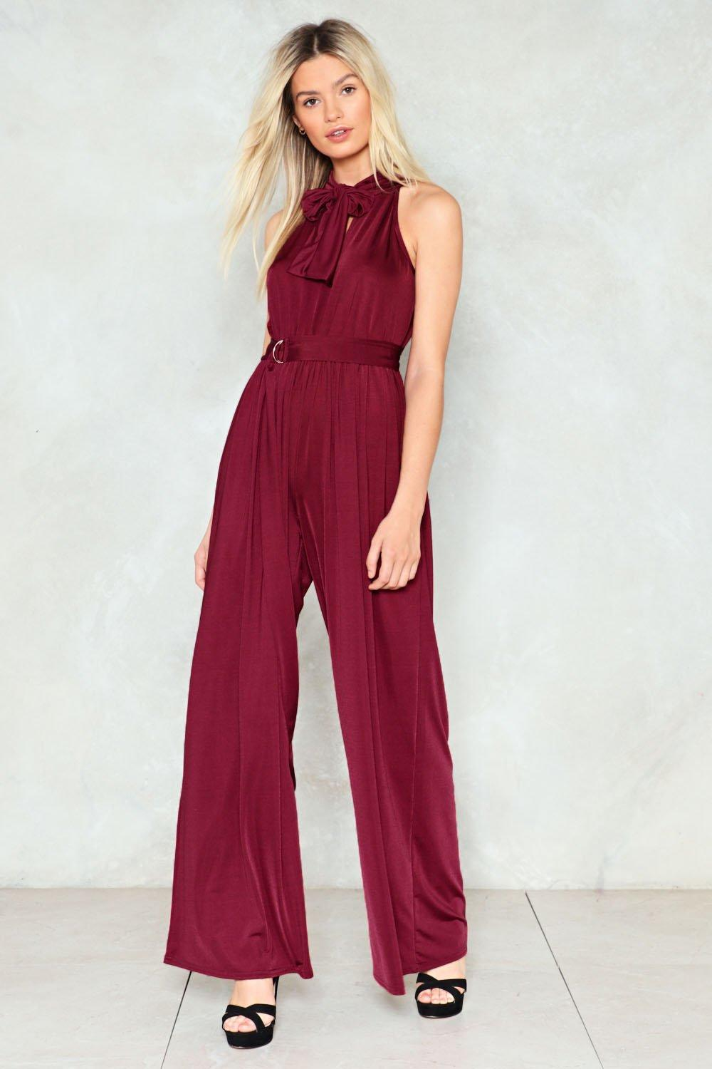 a5d134b5f264 Show Business Wide-Leg Jumpsuit. Hover to zoom