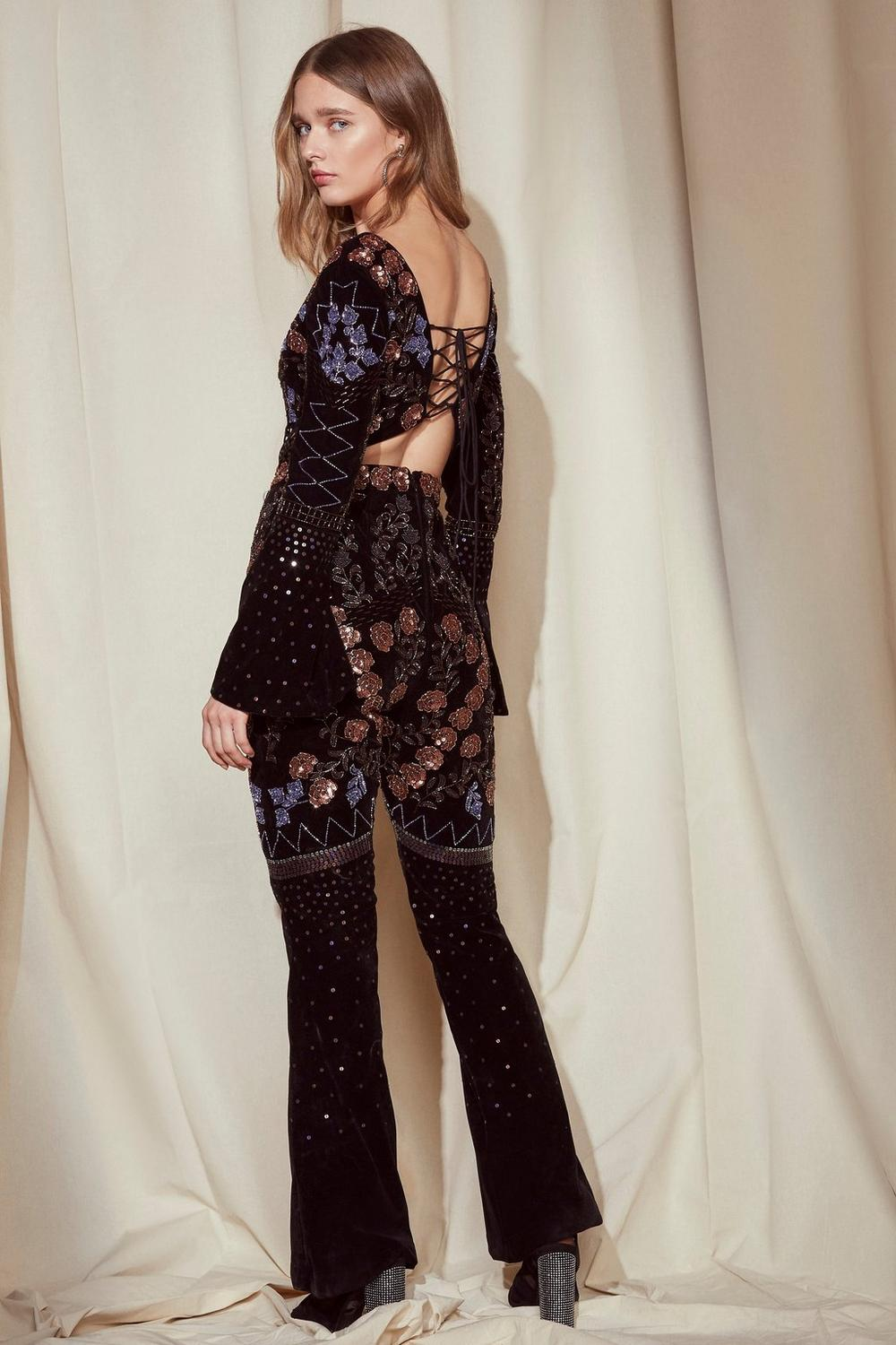 Popular And Cheap Embellished jumpsuit Clearance Choice Buy Cheap How Much aSeADCoW2