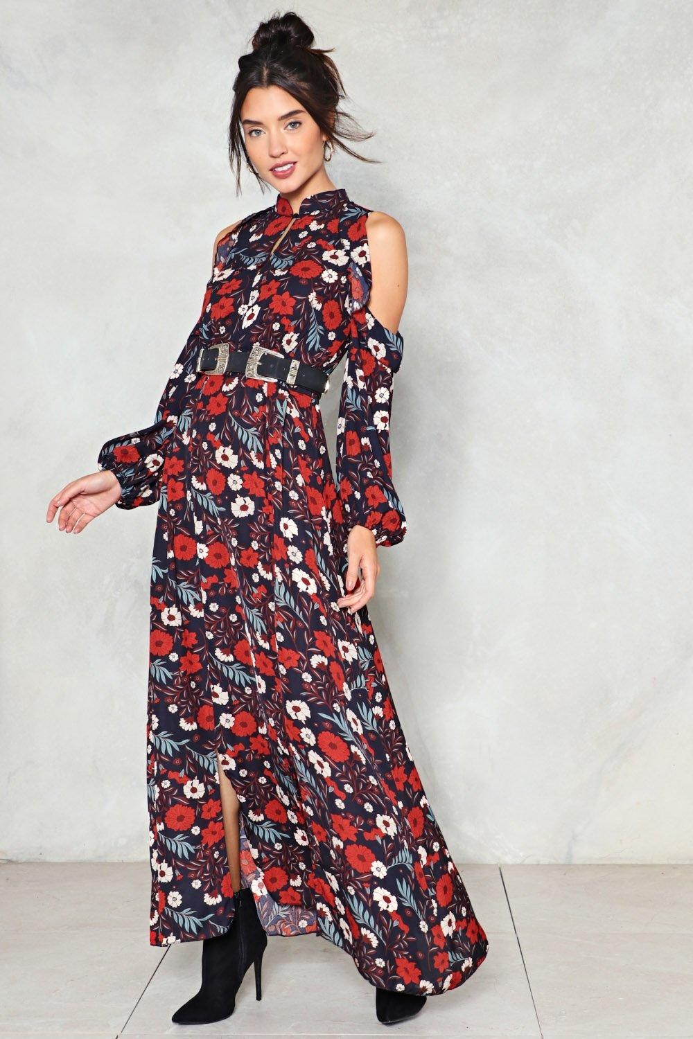 98aed5ee55 Grow to the Party Cold Shoulder Dress | Shop Clothes at Nasty Gal!