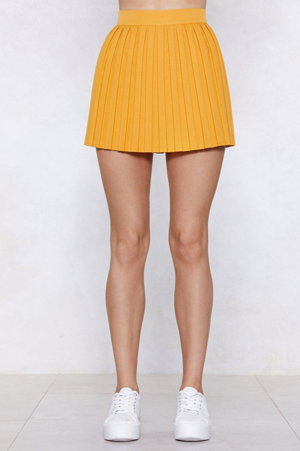 20c2193de9 Com-Pleat Your Look Mini Skirt