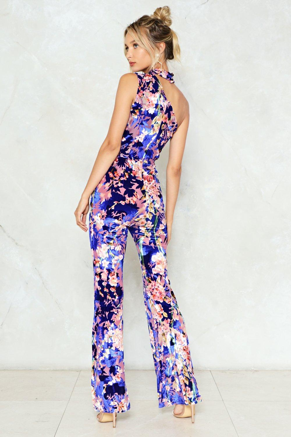 16c90cd04496 In Your Dreams Velvet Jumpsuit. Hover to zoom
