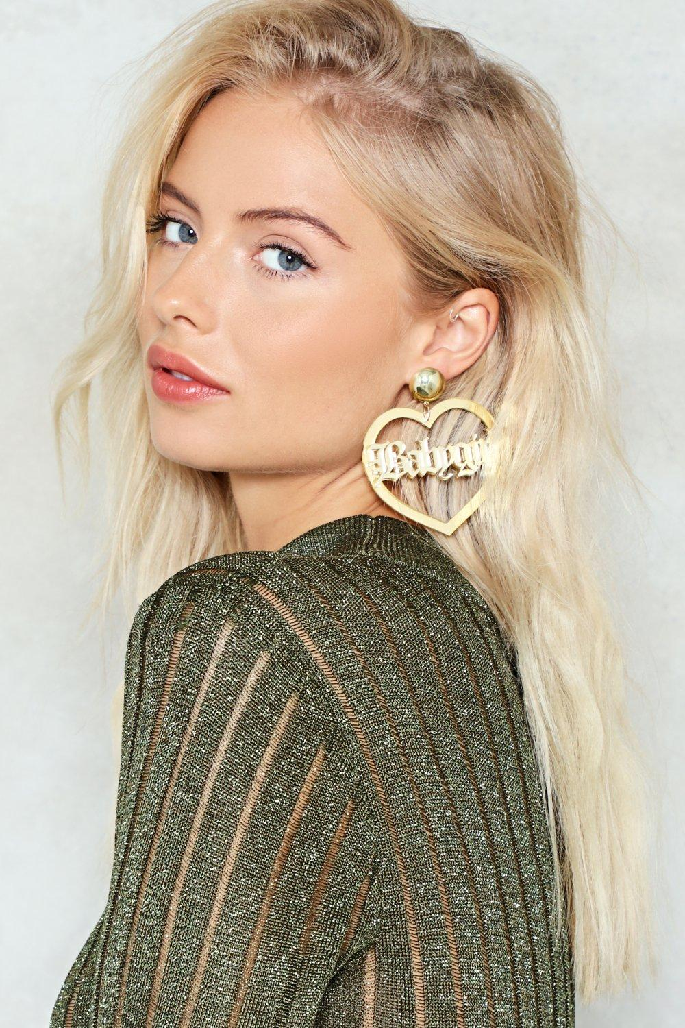 baby girl earrings | shop clothes at nasty gal!