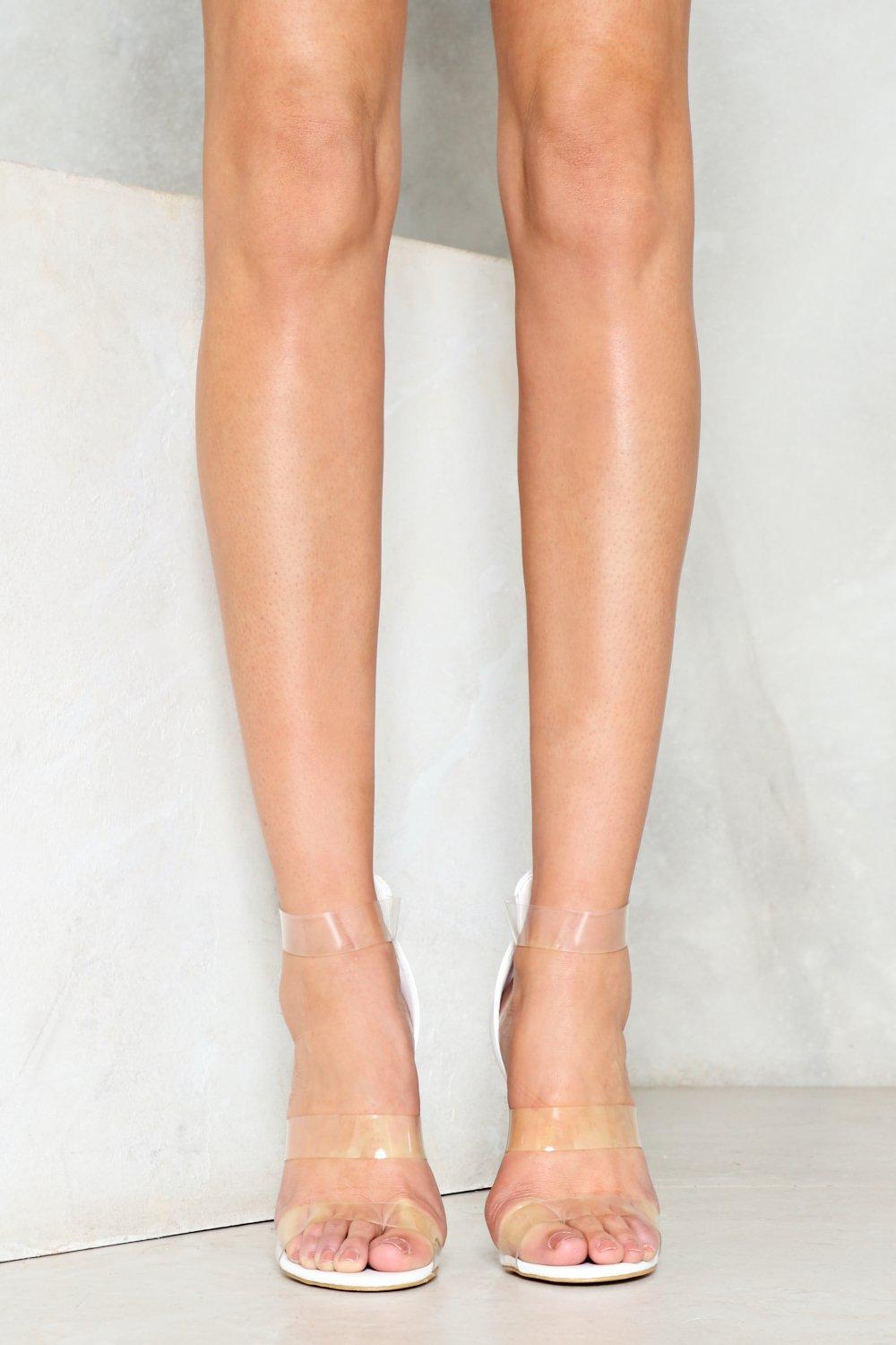 a33db59222 All Clear Stiletto Heel | Shop Clothes at Nasty Gal!