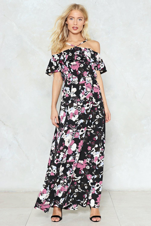 62197c8029e46 Raise Your Glass Floral Maxi Dress