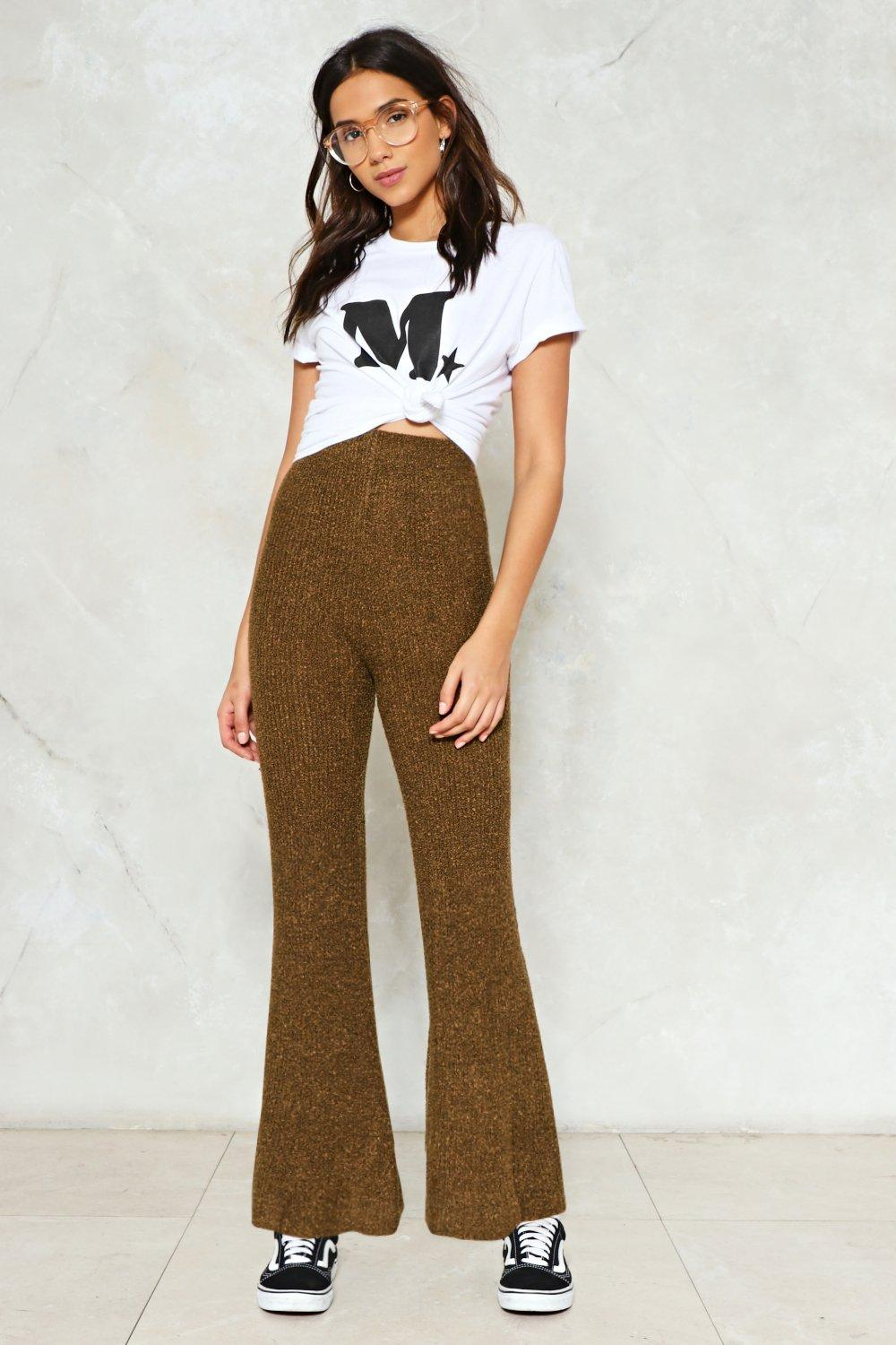 d54e41d1db Get Knitted Out Wide-Leg Pants | Shop Clothes at Nasty Gal!