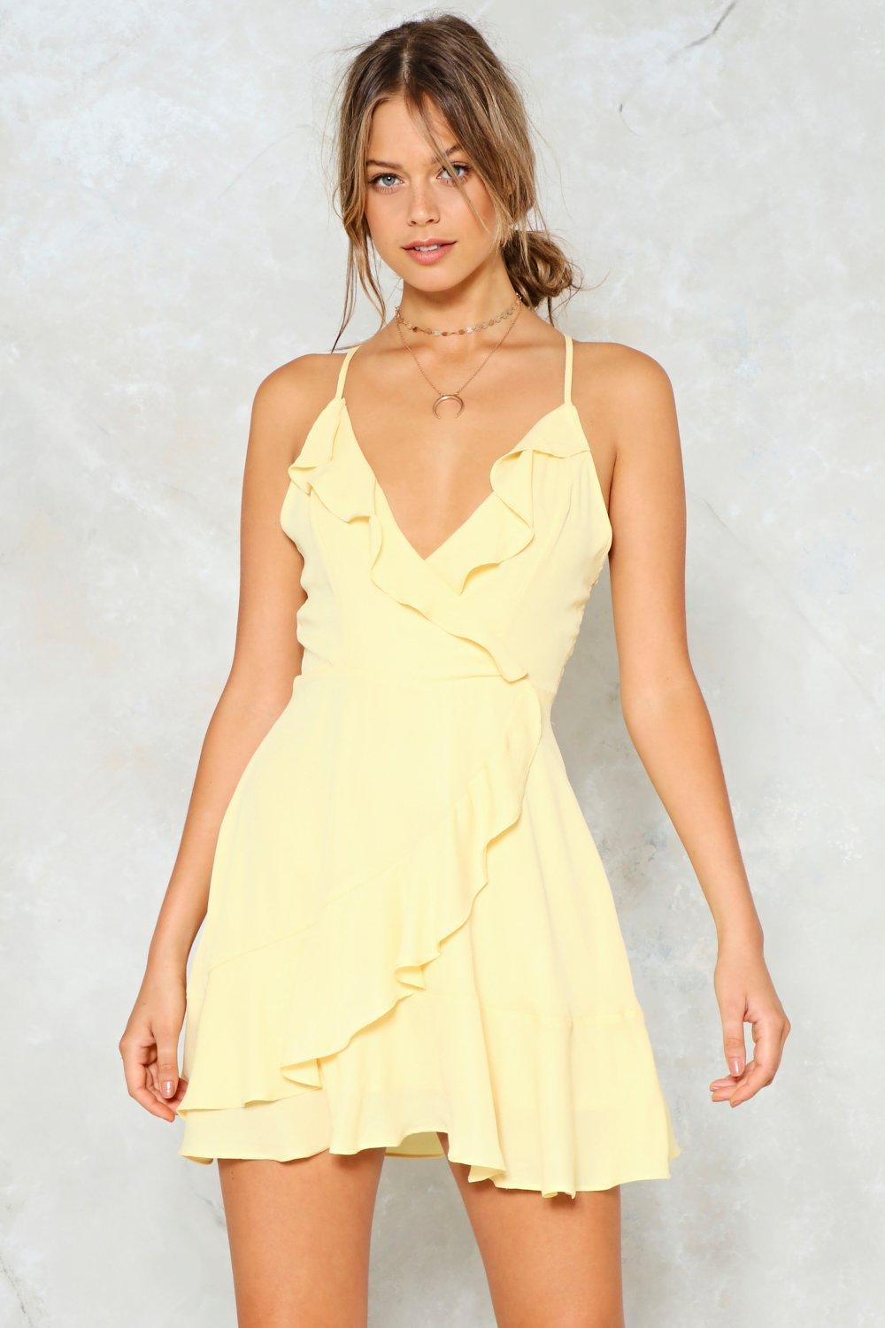 1bca95dc2b0166 Picture This Ruffle Mini Dress | Shop Clothes at Nasty Gal!