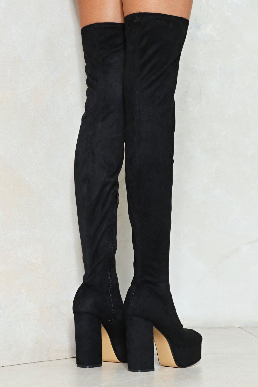 18237027b4 Take the High Road Thigh-High Boot | Shop Clothes at Nasty Gal!