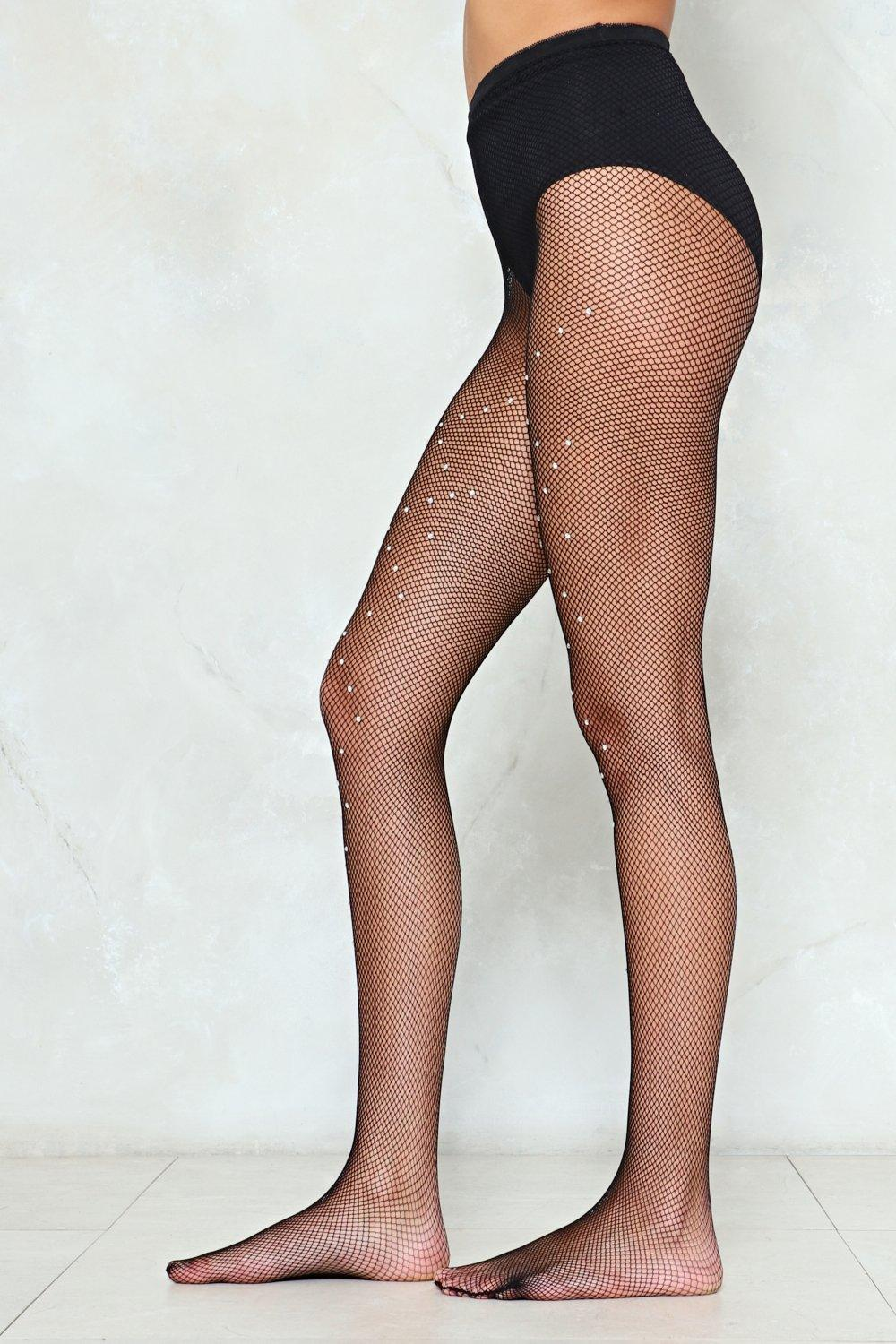 b0f374c6ceb188 Diamante in the Rough Fishnet Tights | Shop Clothes at Nasty Gal!