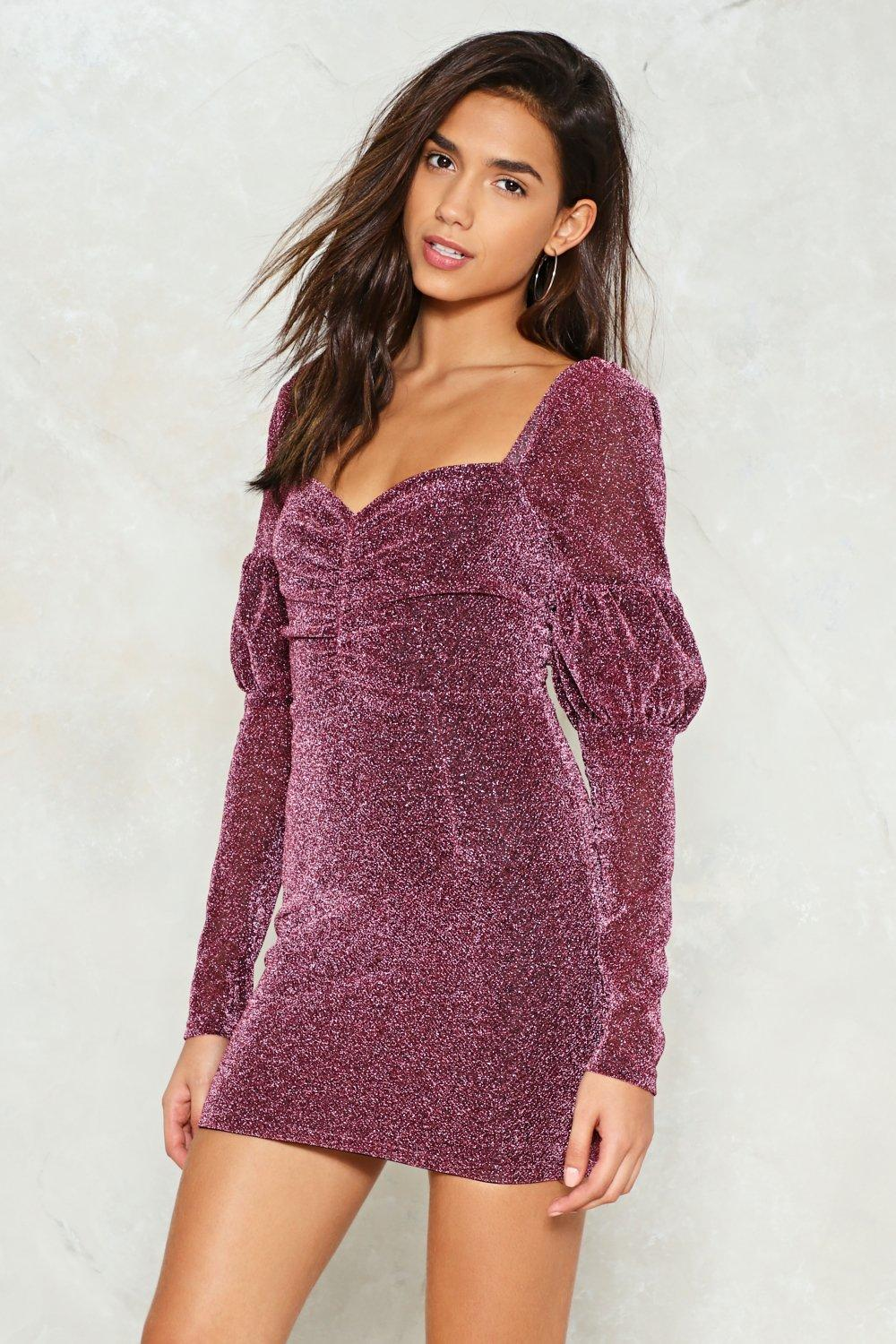 More More More Glitter Dress | Shop Clothes at Nasty Gal!