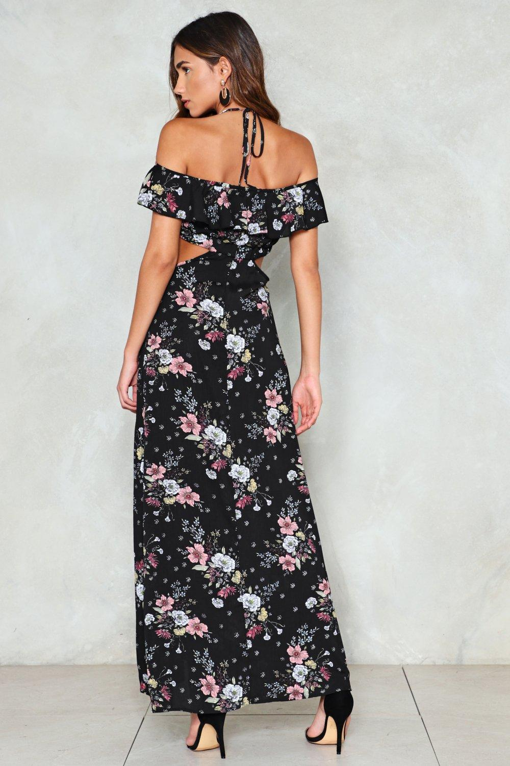 1147a0197a8e4 Growing on Me Floral Maxi Dress | Shop Clothes at Nasty Gal!