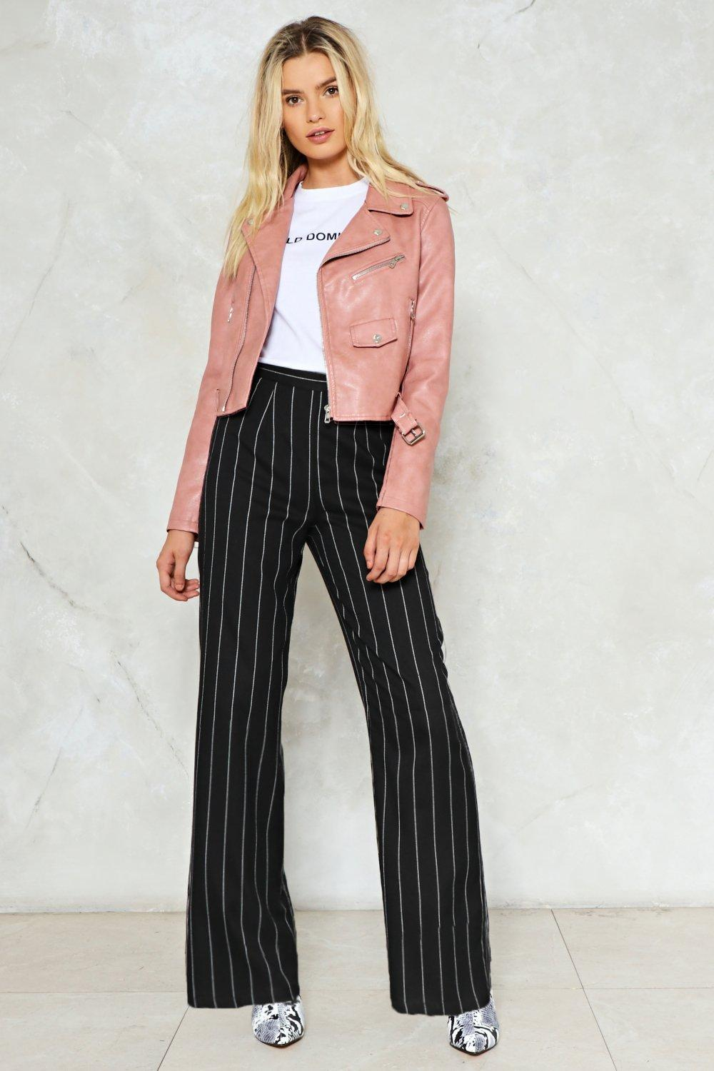 a6f4665fecfd1c Stripe It From The List Wide-Leg Pants | Shop Clothes at Nasty Gal!