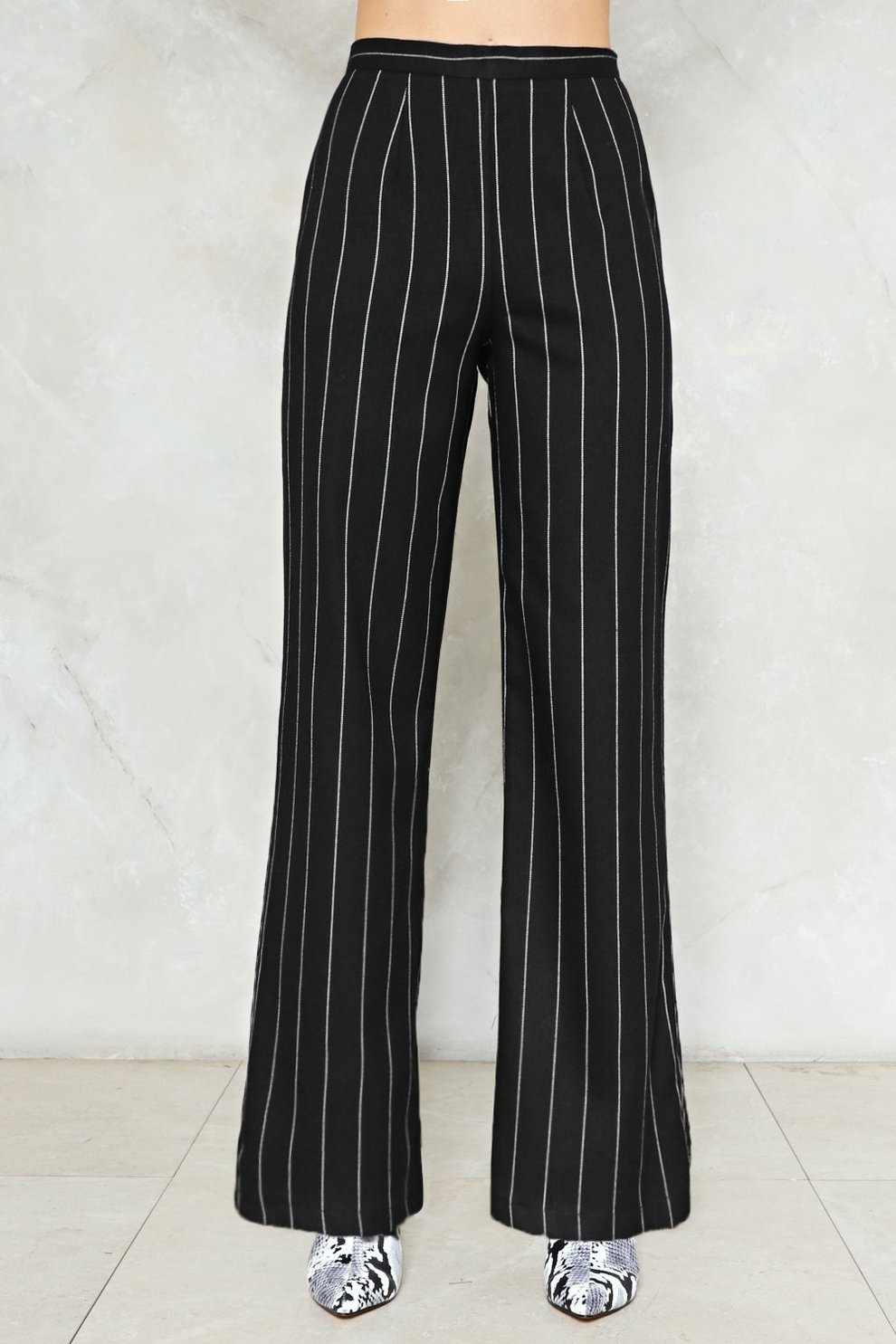 d03431b032 Stripe It From The List Wide-Leg Pants | Shop Clothes at Nasty Gal!
