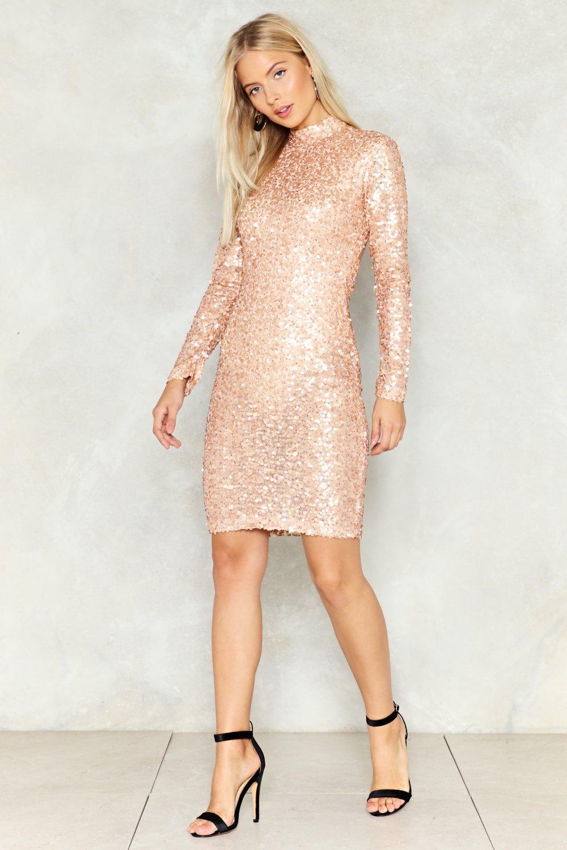 I\'m Gonna Make You Love Me Sequin Dress | Shop Clothes at Nasty Gal!