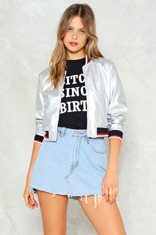 25c41c45f Boogie Wonderland Bomber Jacket | Shop Clothes at Nasty Gal!