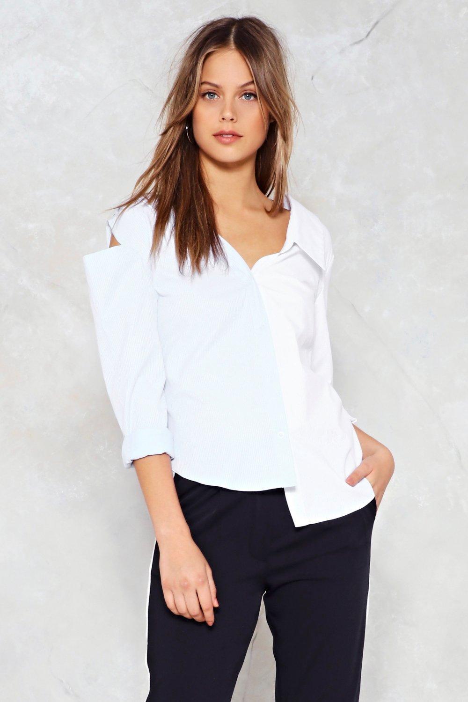 5ee6977b Gotta Shoulder On Cold Shoulder Shirt | Shop Clothes at Nasty Gal!