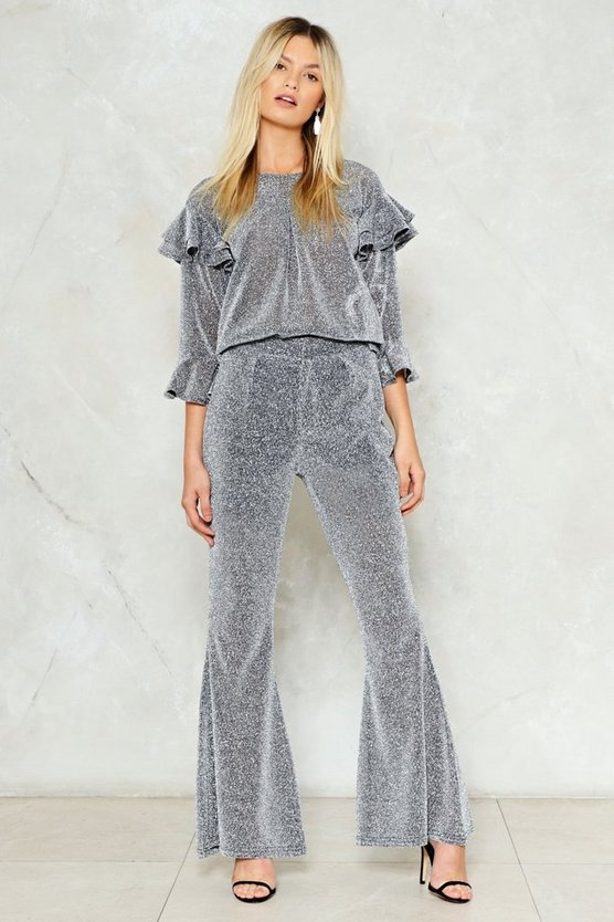 Are We Sheer On This Flare Pants by Nasty Gal