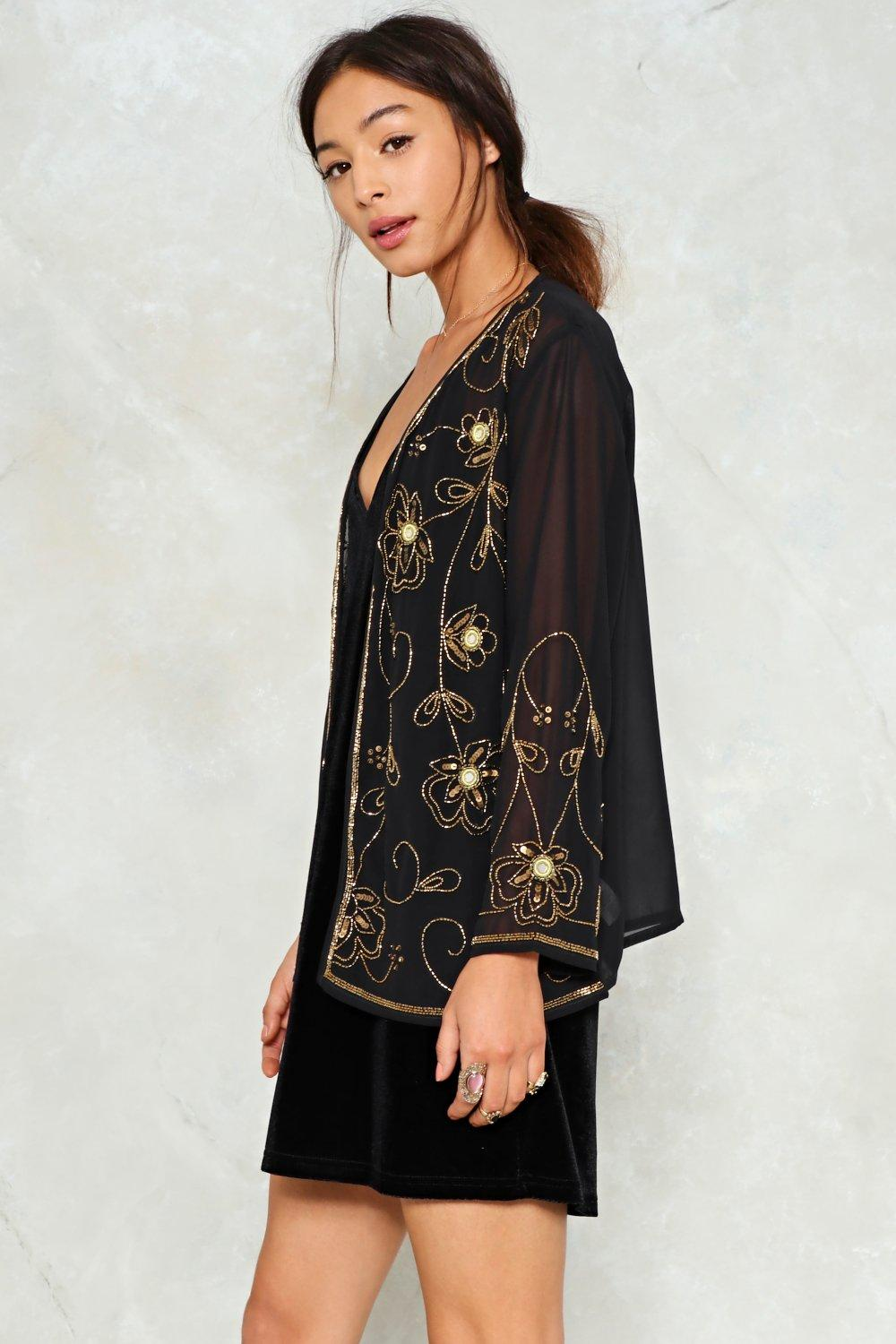 0e57ac8a78 Our Night to Shine Embellished Jacket | Shop Clothes at Nasty Gal!