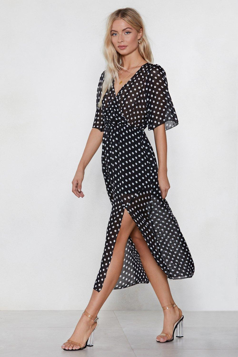 a8cb00244c Hit the Spot Polka Dot Dress | Shop Clothes at Nasty Gal!
