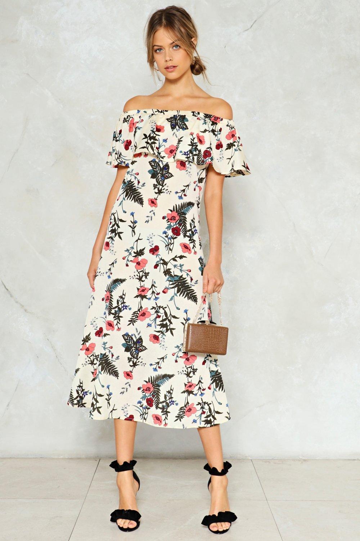 Super Flower Floral Dress Shop Clothes At Nasty Gal