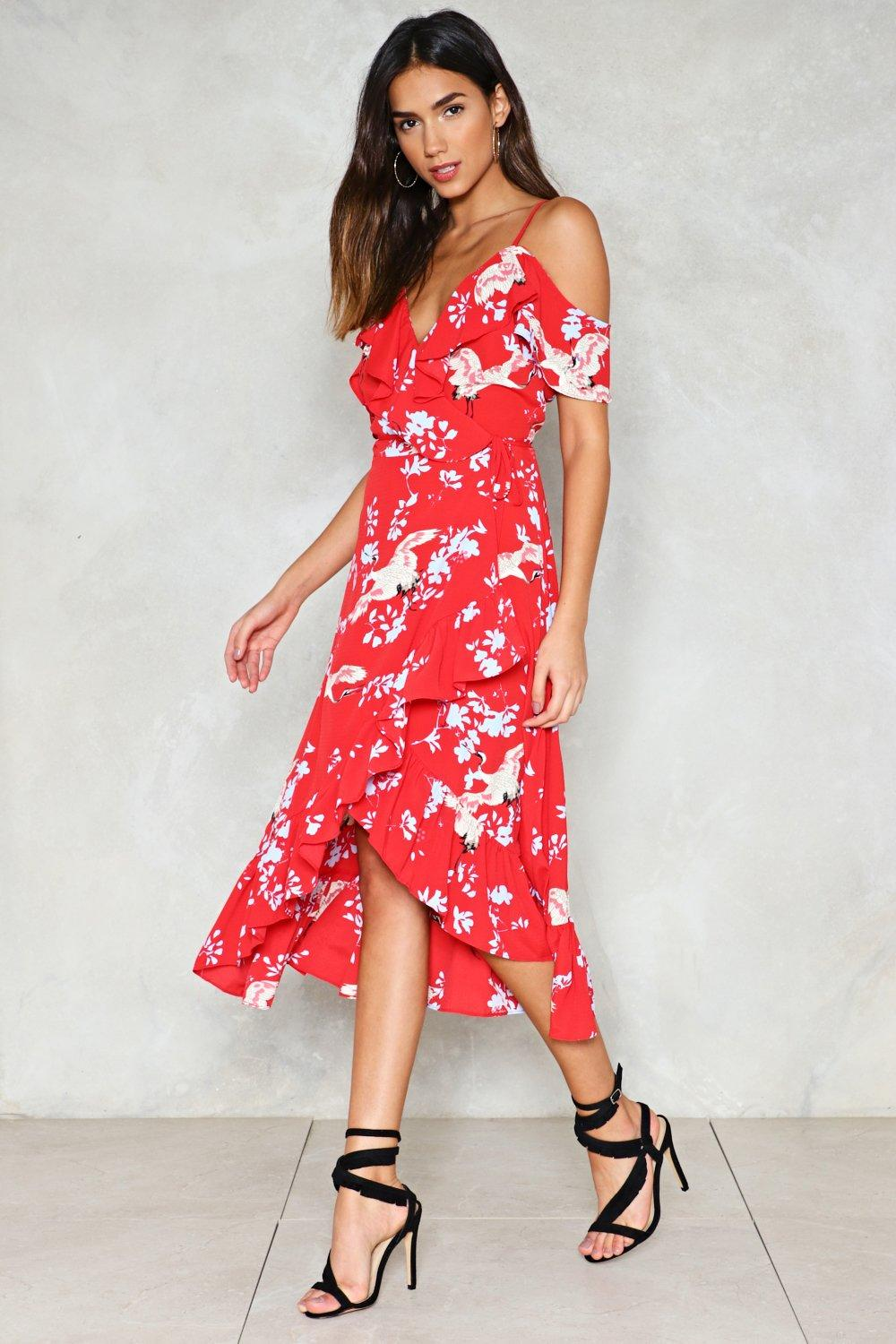 Hover to zoom · Point Me at the Sky Floral Dress 6bf4f1451
