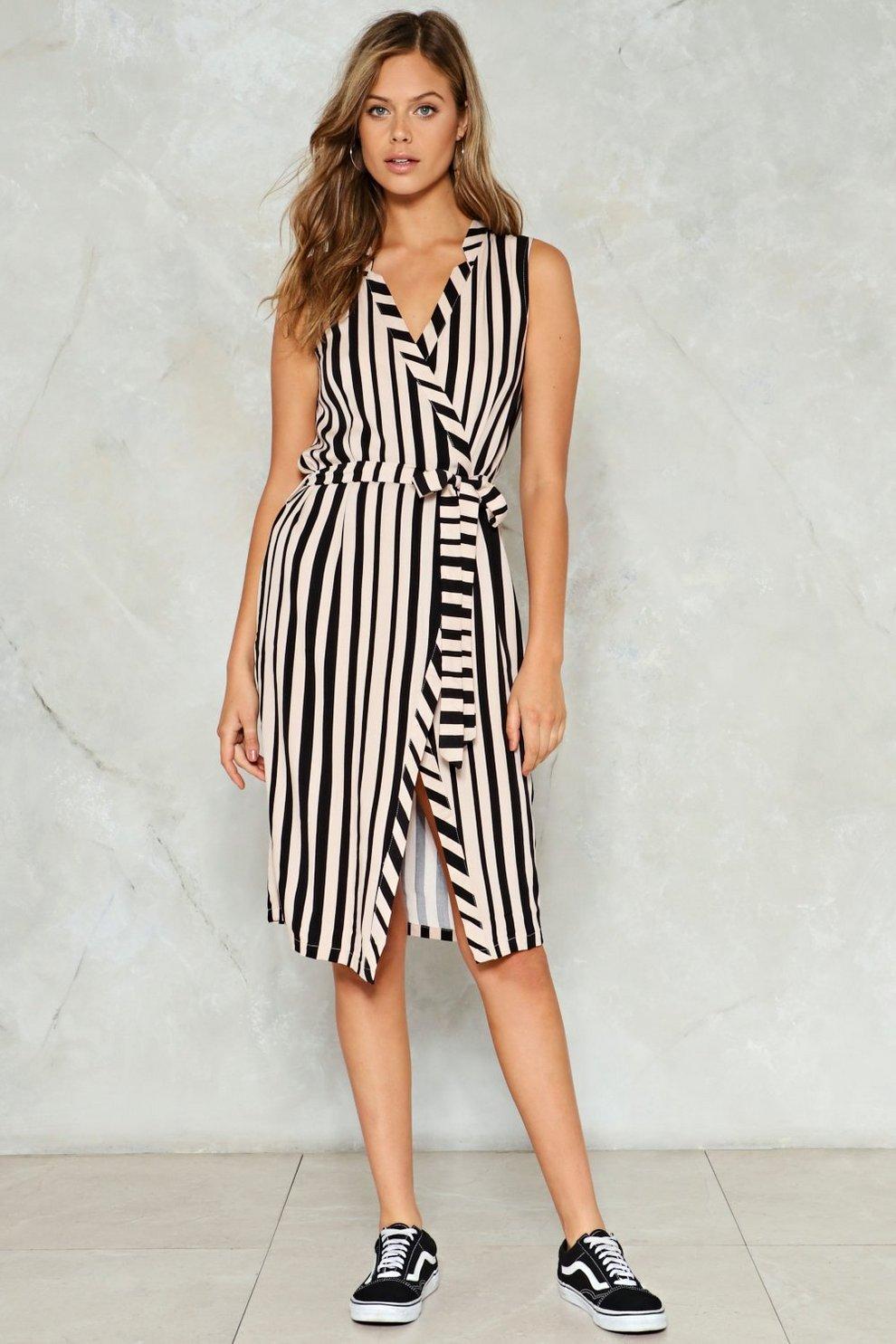 88b3364362b5 Think Straight Striped Dress