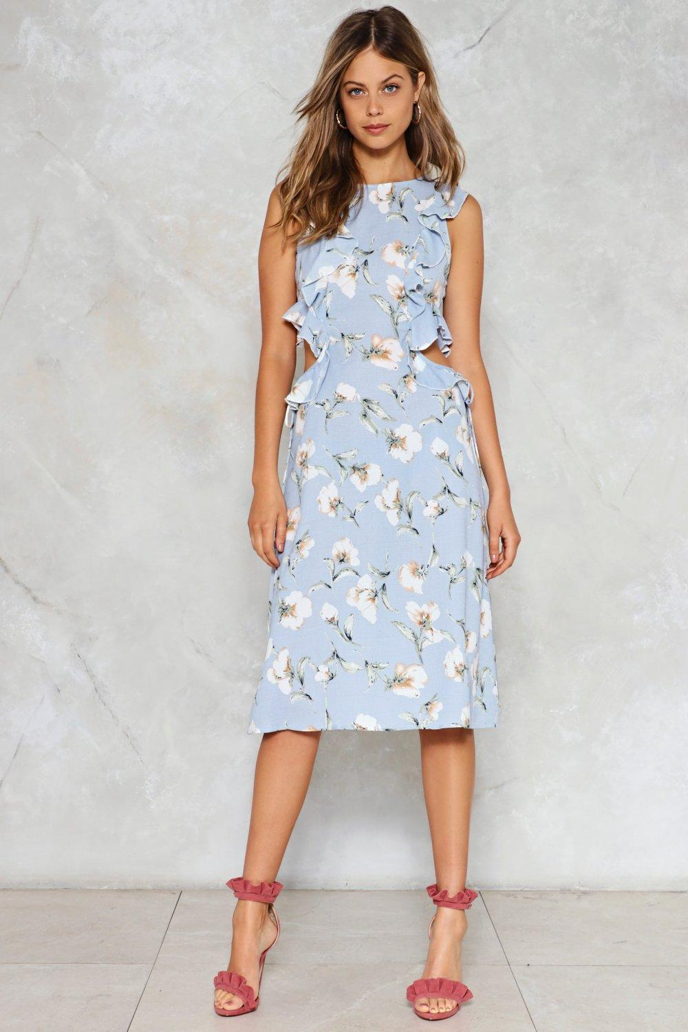 Morning glory floral dress shop clothes at nasty gal morning glory floral dress izmirmasajfo