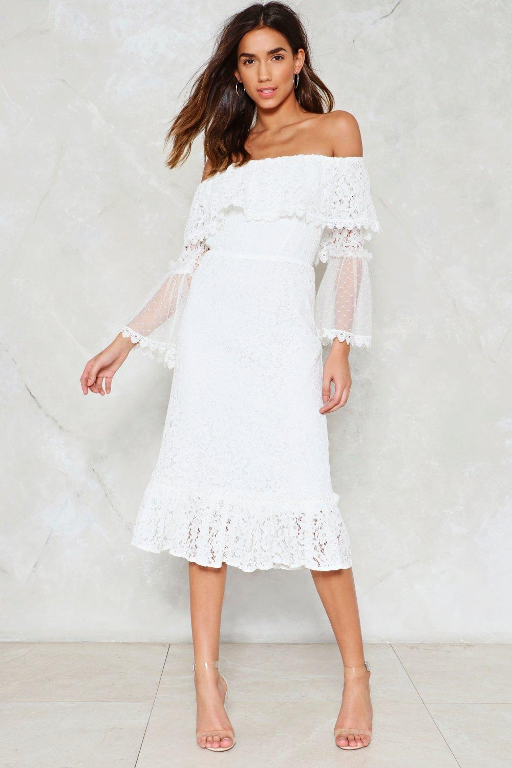 784757e911 Do It in the Name of Lace Dress | Shop Clothes at Nasty Gal!