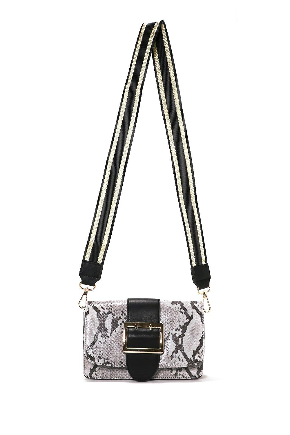 774bd65090 Hover to zoom · WANT Snake a Break For It Crossbody Bag. Click to expand