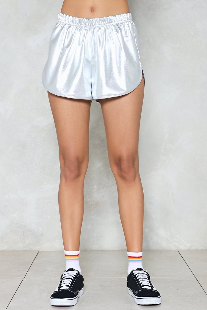 variousstyles really cheap laest technology To the Moon Metallic Shorts   Shop Clothes at Nasty Gal!