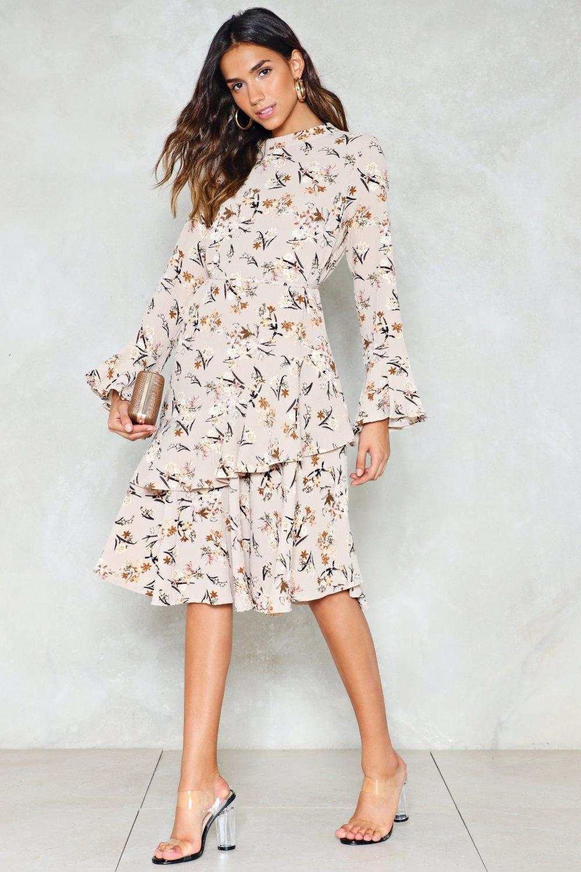 Spring Street Floral Dress