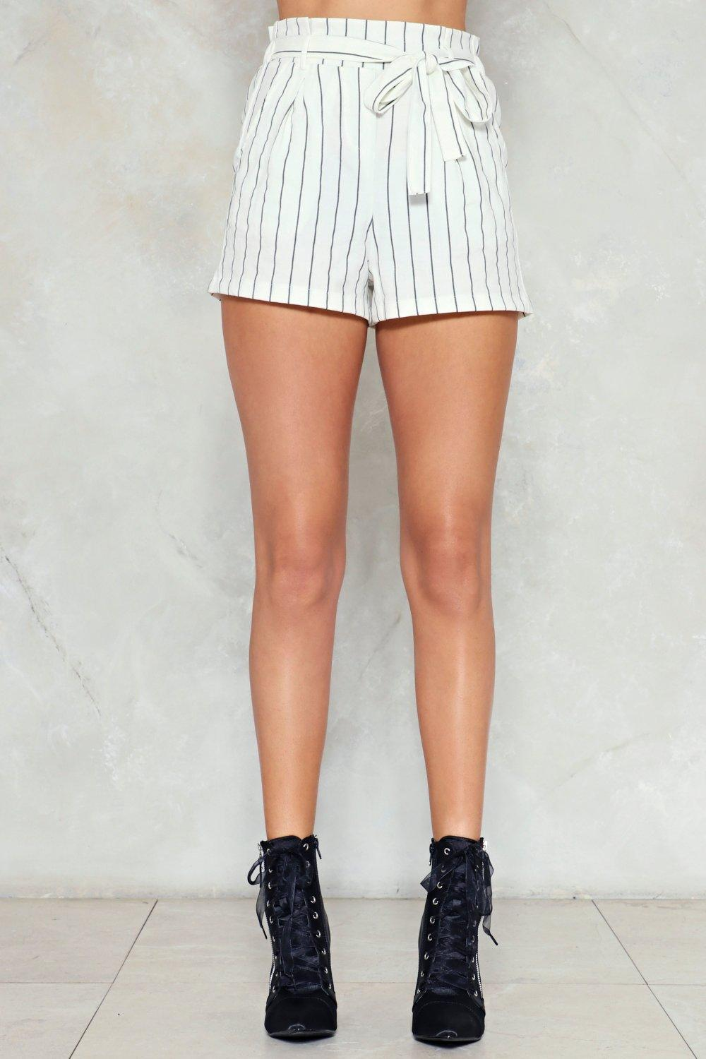 23f0d6a3b46eb Neat as a Pinstripe Shorts | Shop Clothes at Nasty Gal!