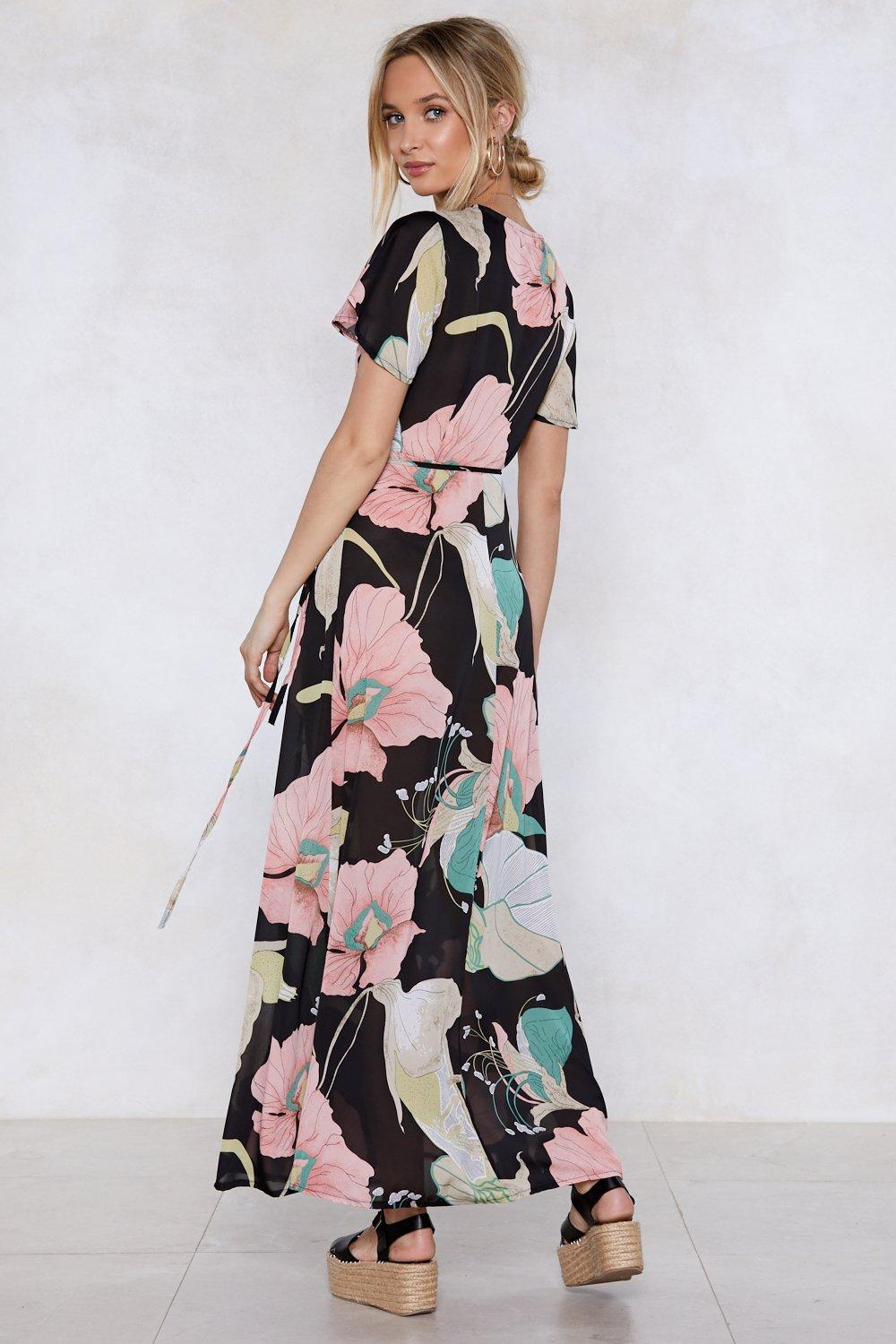 0be19a67137 Summer in the City Wrap Dress