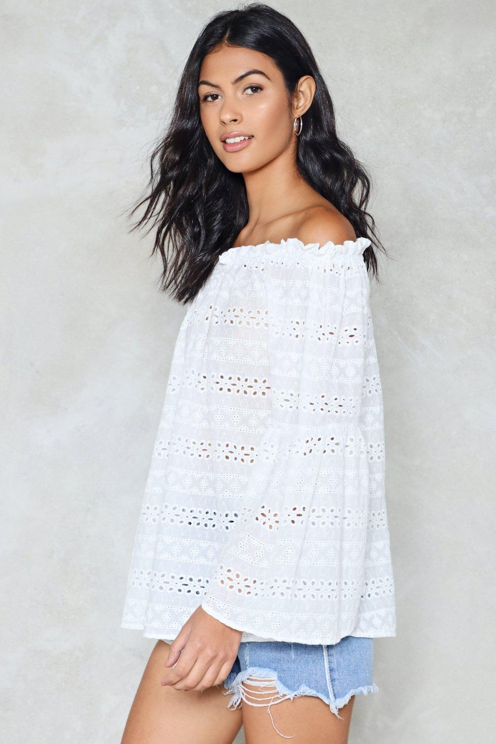 a2cc3955fc0 Take a Swing Off-the-Shoulder Top | Shop Clothes at Nasty Gal!