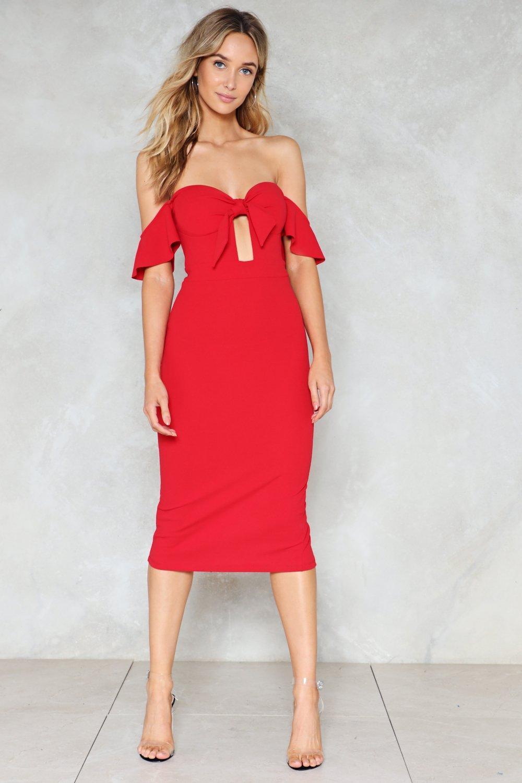 92366585a3f71 Do as I Say Off-the-Shoulder Dress | Shop Clothes at Nasty Gal!