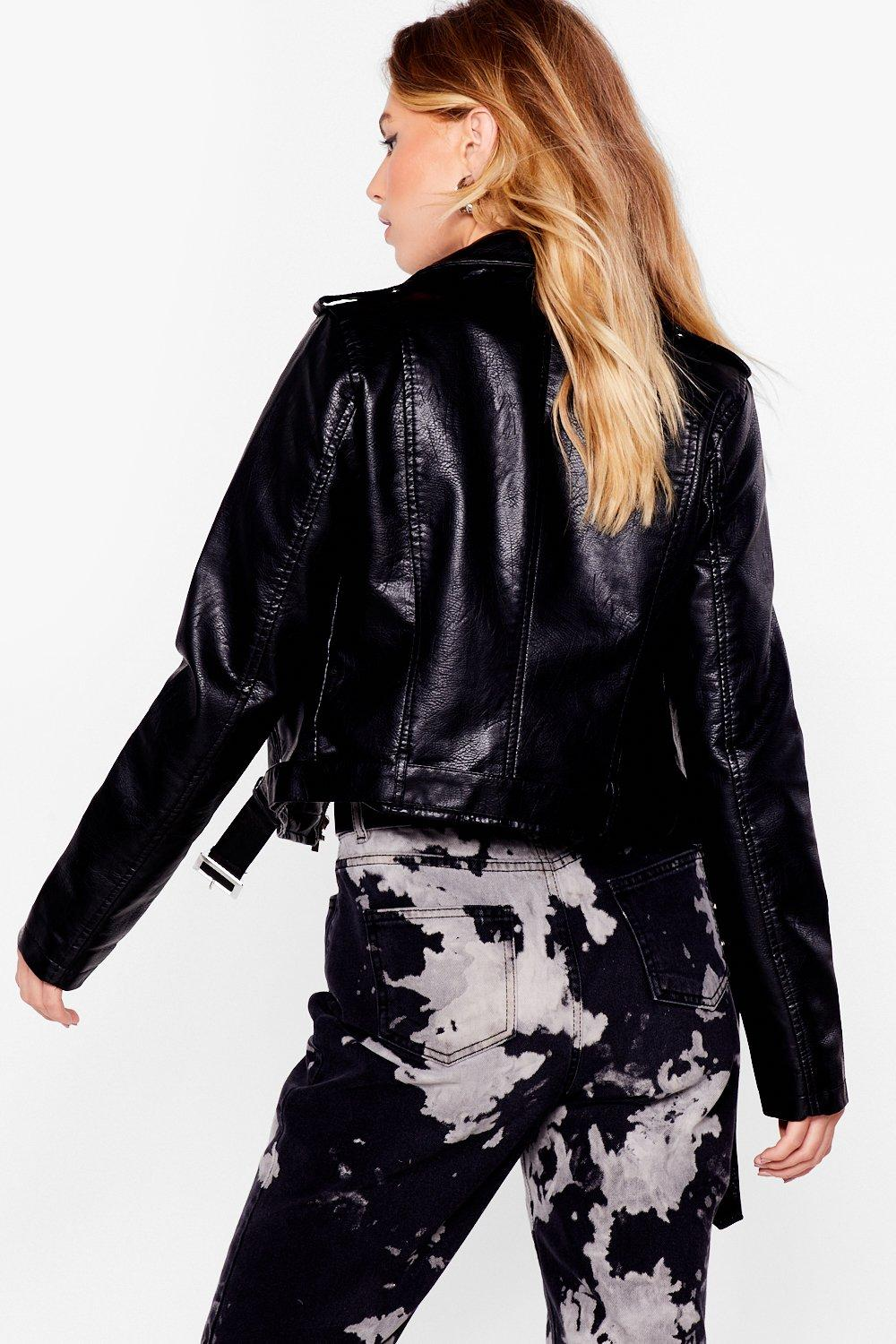 Bad Motor Faux Leather Moto Jacket   Shop Clothes at Nasty Gal!