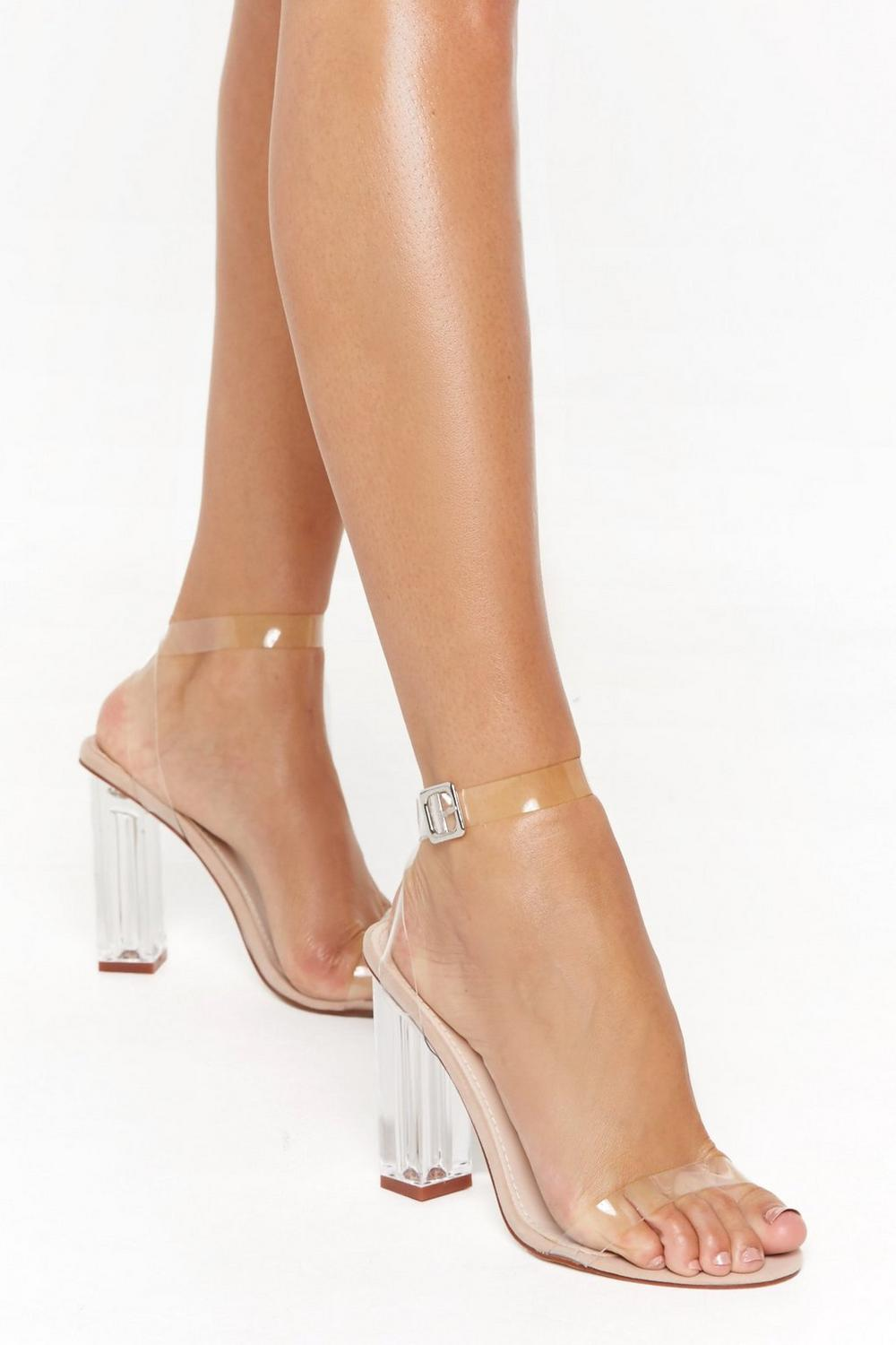 ed50e5a444a01 Let's Be Clear Heel | Shop Clothes at Nasty Gal!