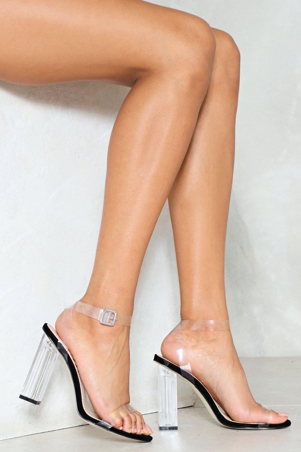 f25fb6d84c Let's Be Clear Heel | Shop Clothes at Nasty Gal!