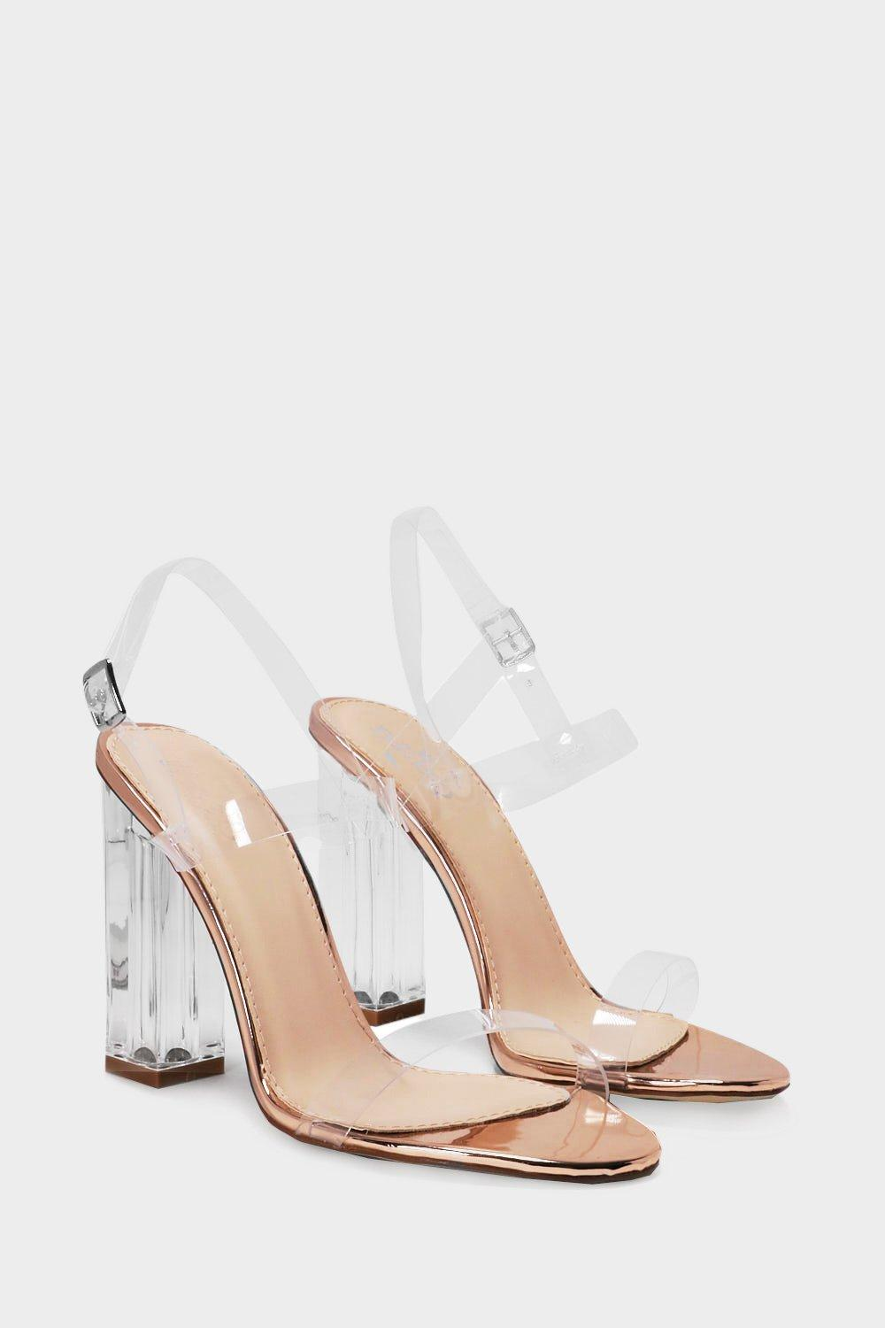 71050cfe7e9 Let s Be Clear Heel