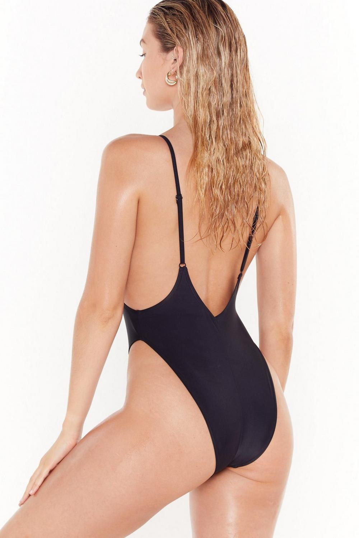 5fb6841059474 Nasty Gal Alina High-Leg Swimsuit | Shop Clothes at Nasty Gal!
