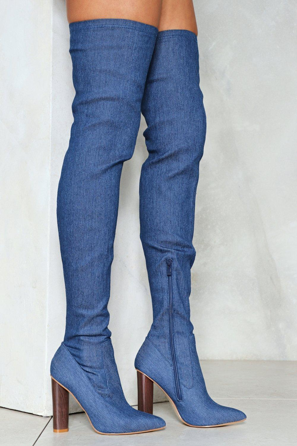 8469f3f1a509 Beyond Your Jeans Thigh-High Boot