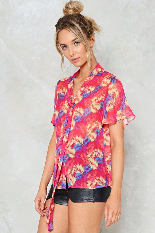 2ca01be826 Free as a Bird Printed Shirt | Shop Clothes at Nasty Gal!