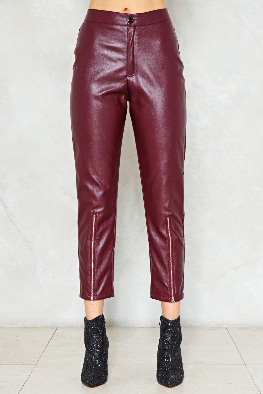 cc7b0dfa0e7d8 Just Ride Faux Leather Pants | Shop Clothes at Nasty Gal!