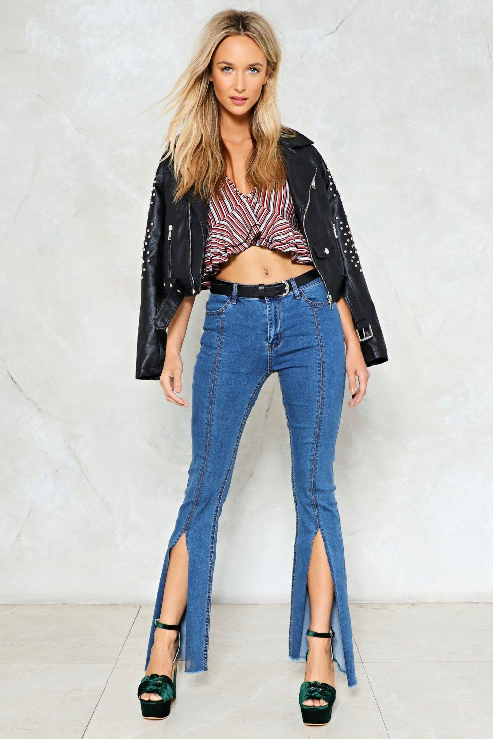 43ffcf1f6de0 Splitting Image Flare Jeans | Shop Clothes at Nasty Gal!
