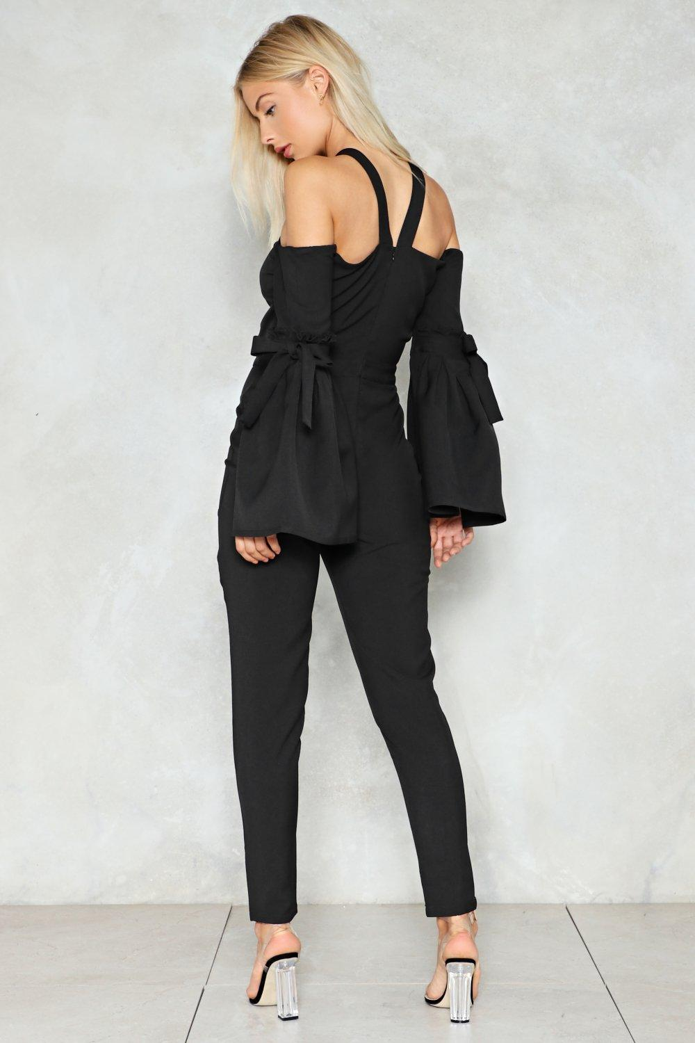 6f6a49620edd Show and Tell Cut-Out Jumpsuit