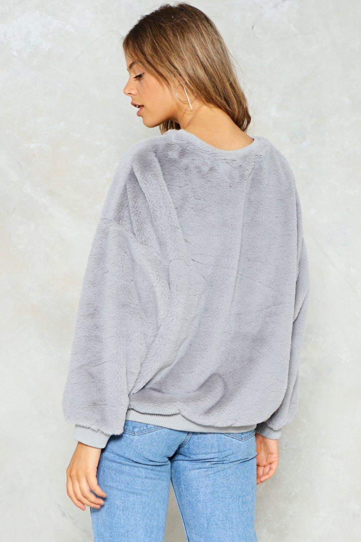 d1957642d Total Softy Faux Fur Sweater