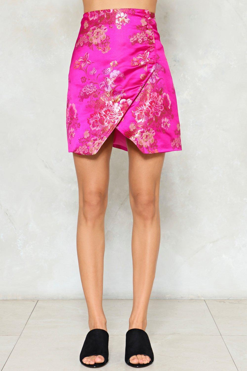 3d35e3f506 On the Grow Satin Mini Skirt | Shop Clothes at Nasty Gal!